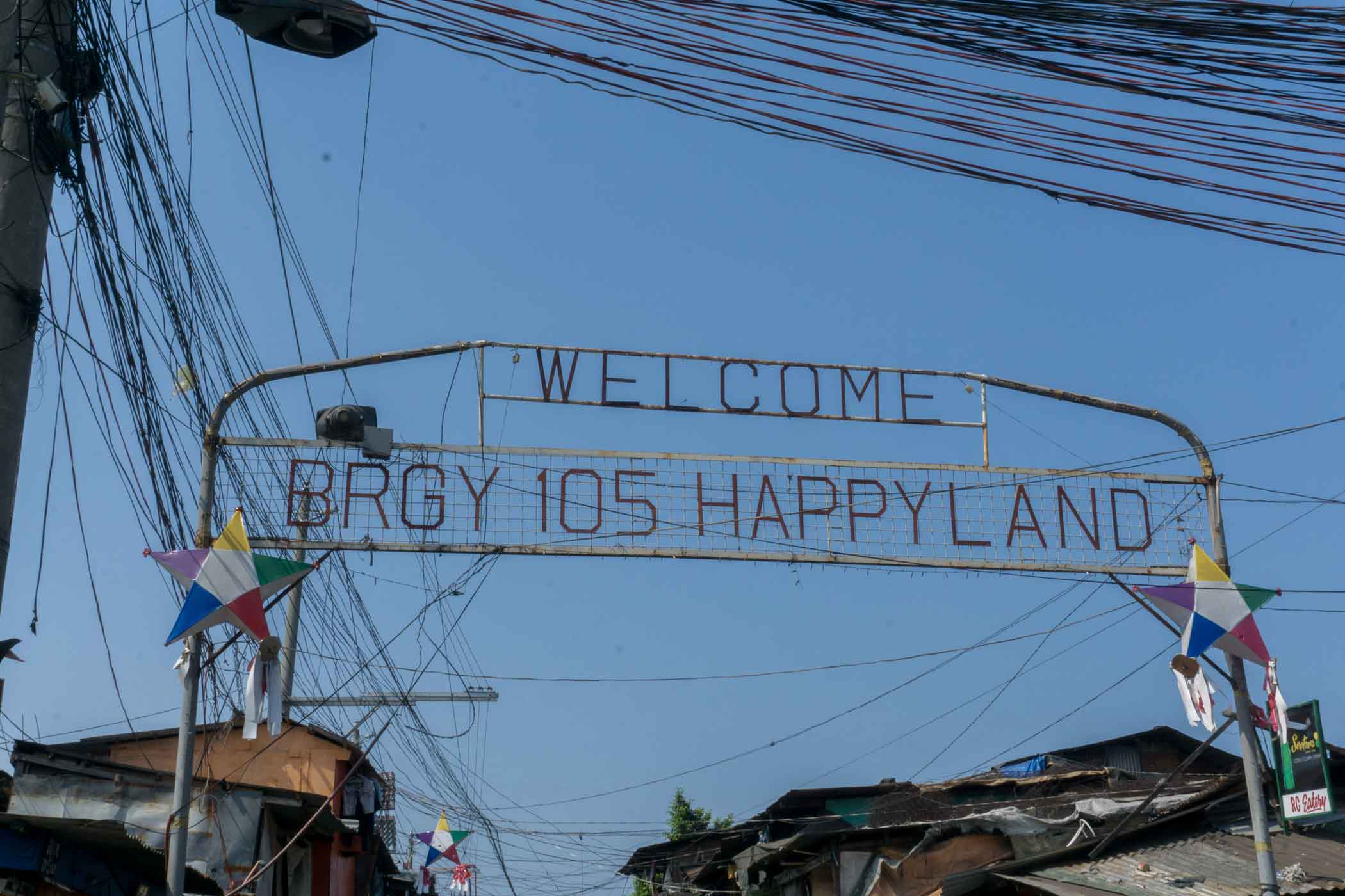 Sign for Happyland (Manila, Philippines)