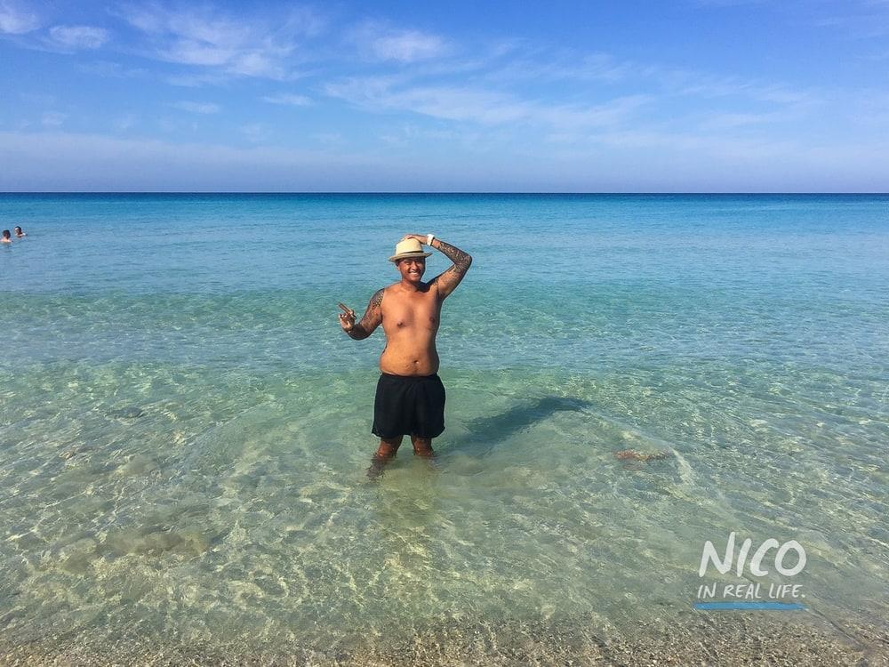 Day trip to Playas Del Este in Havana, Cuba