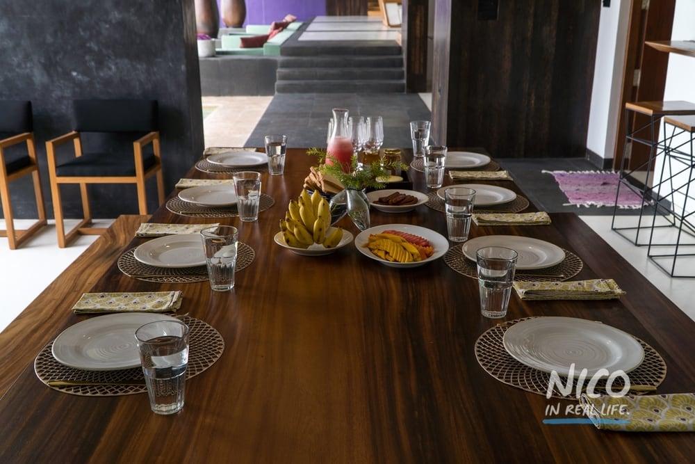 Villa Wambatu Unawatuna Sri Lanka Breakfast Spread
