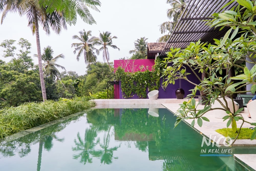 Villa Wambatu Unawatuna Sri Lanka Pool