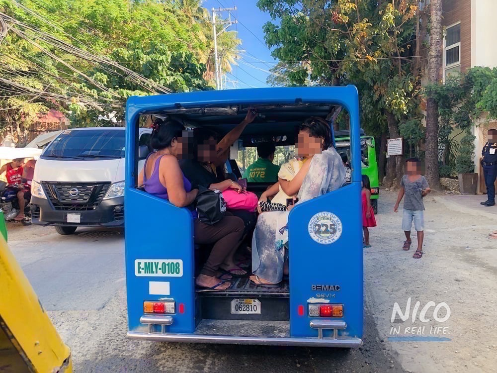 E Trikes in Boracay Island, Philippines