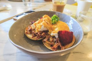 Eggs Benedict at Sunny Side Cafe Boracay