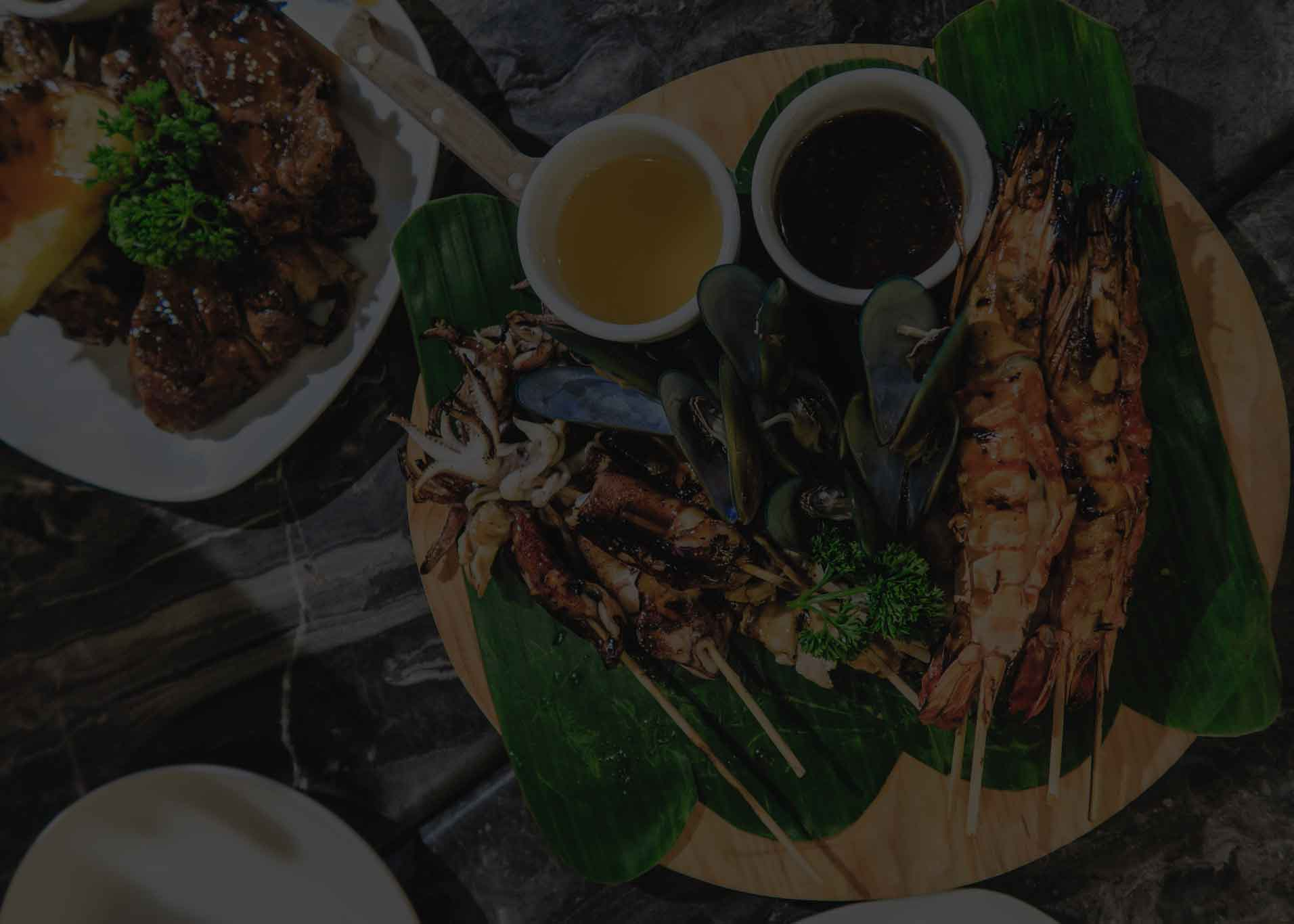 Cover image - Barbecue seafood plate in Boracay